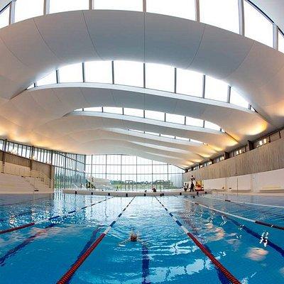 bassin 8 lignes d'eau, pour les sportifs