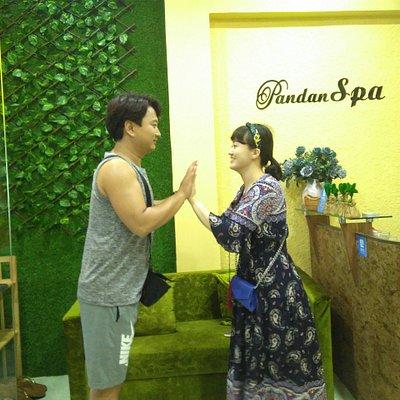 Pandan Spa Customers