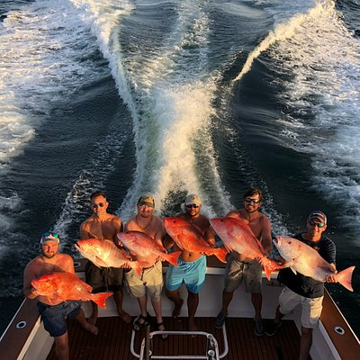 A few red snapper from our 2018 season!