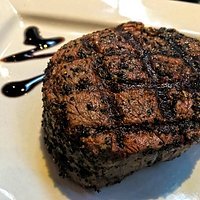 Perfectly cooked filet