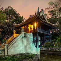 Chùa một cột - one pillar pagoda