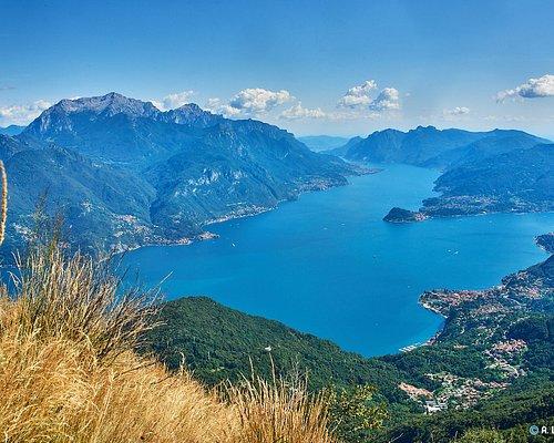 Dalla cima del Grona uno spettacolo meraviglioso sul Lago di Como