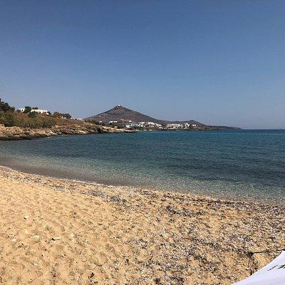 La spiaggia di mesada, di prima mattina