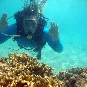 Mergulho com cilindro em Maragogi