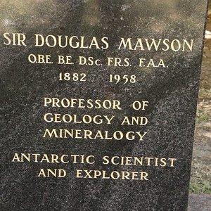 About Sir Douglas Mawson
