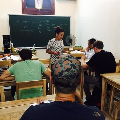 VIETNAMESE FOR BEGINNER - PICTURE OF VIETLESSON CLASS