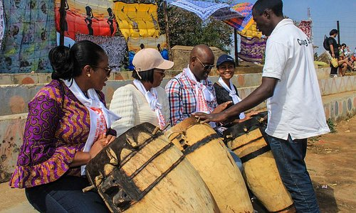 Zambian traditional drumming workshops at Lusaka Experience