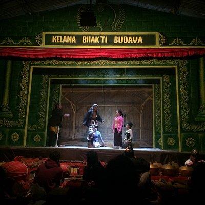 Amazing javanese traditional theatrical art in Yogyakarta