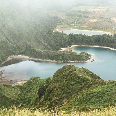 Miradouro do Pico da Barrosa, Sao Miguel, Azores