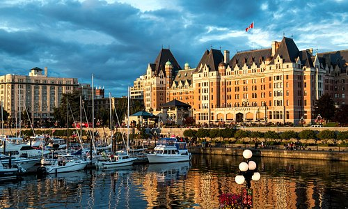 Victoria Inner Harbour & The Empress Hotel