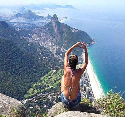 France-Rio.com : randonnée dans la forêt de Tijuca - Pedra da Gavea