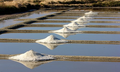 Le sel de Batz près de Guérande, pour accompagner l'os à moelle