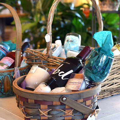 Gourmet gift baskets!