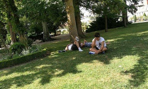 Loches Jardin Public