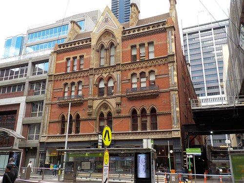 Whole building from across Bourke Street