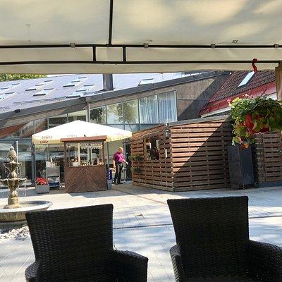 Their terrace