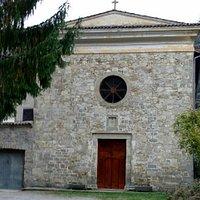 La chiesetta com'era prima del terremoto