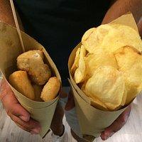 baccalà e patatine