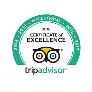 Hall of Fame Certificate of Excellence 2018