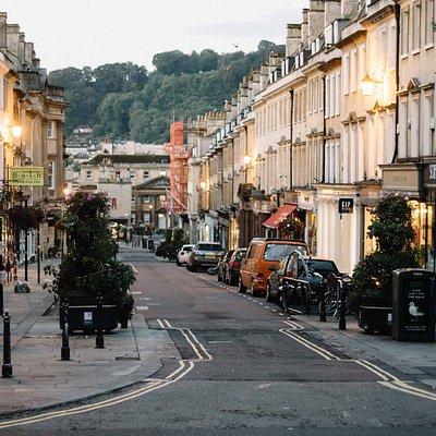 Milsom Street (Top of the street)