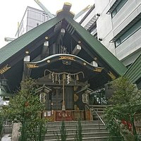 築土神社本殿