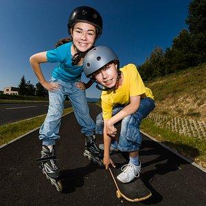 Rollerblading and Skateboarding camp