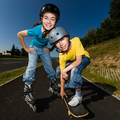 Rollerblading and Skateboarding camp