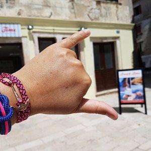 Best souvenirs from Croatia - Handmade jewellery - Nautical bracelets - Waterproof bracelet