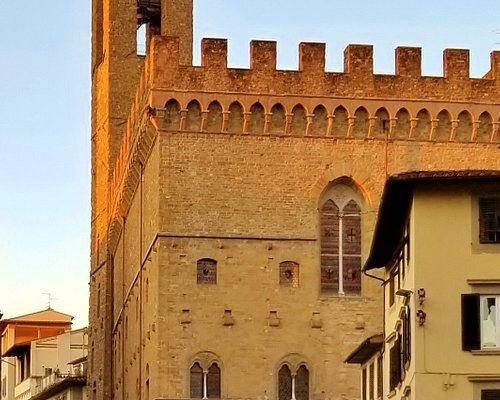 Torre Volognana from Piazza di San Firenze
