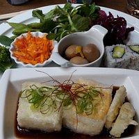 Assiette végétarienne japonaise