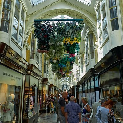 inside the Burlington Arcade