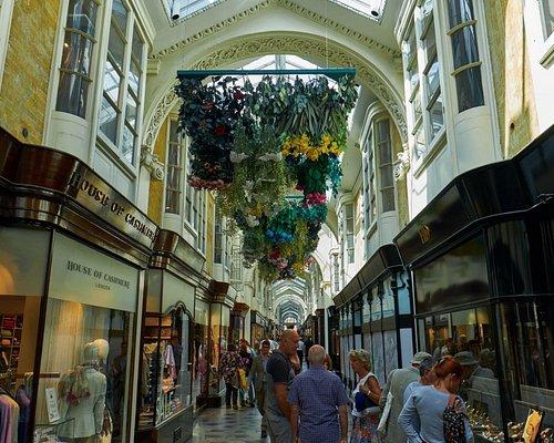 inside the Burlington Arcade