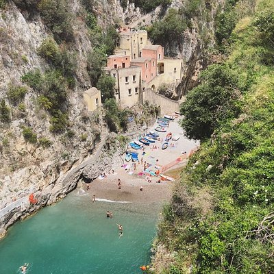 Furore, fishermen village off the Amalfi Coast