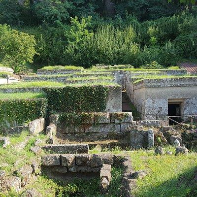 Panoramica sulla Necropoli