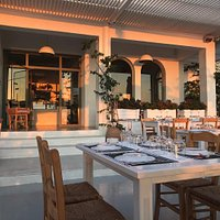 Outdoor seating, beautiful ambiance!