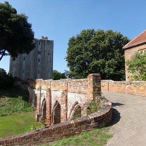 The Tudor Bridge and the Keep