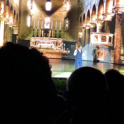 Teatro verdura  Rappresentazione caruccia di Enrico Brignano, spettacolo divertente ma allo stes