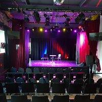 Das Theater kann für Proben, private Feiern, Film-& TV Aufnahmen gemietet werden