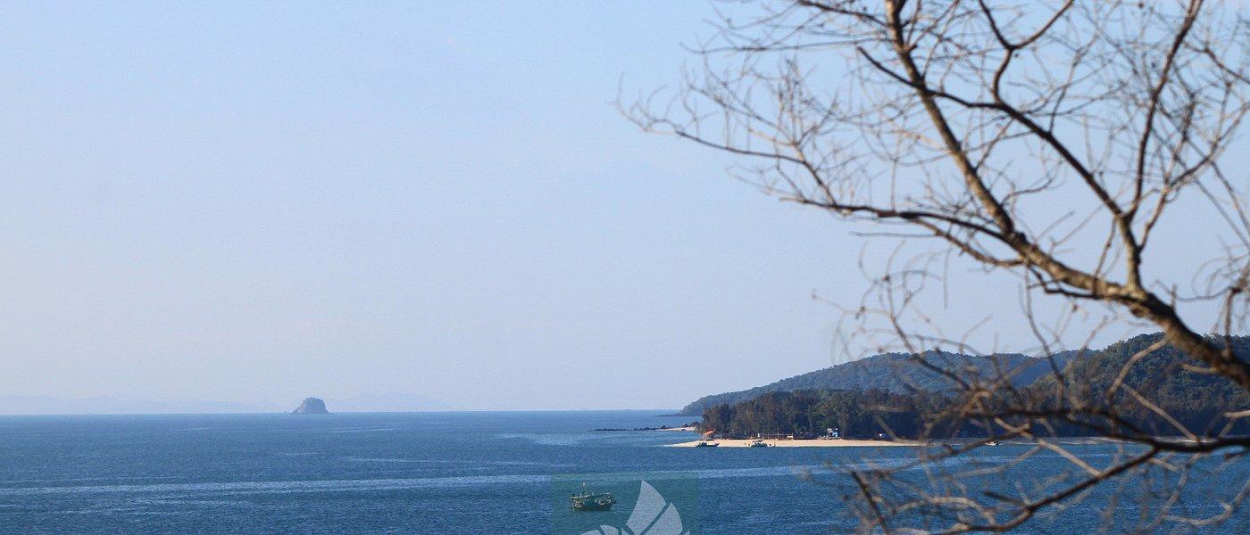 đảo Cô Tô Con nhìn từ phía Bắc Vàn