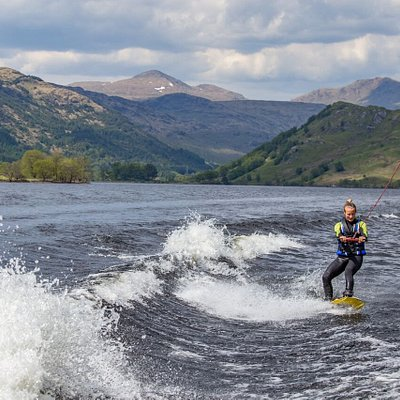 Wakeboarding with Loch Lomond Wakeboard