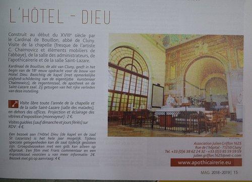 L'hôtel Dieu de Cluny