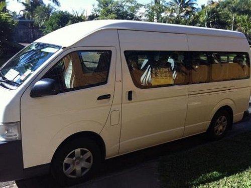FNQ Airport Shuttle vans