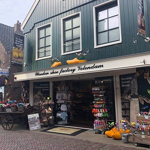 The wooden Shoe Factory Volendam
