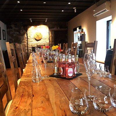 Inside The Bothy tasting room