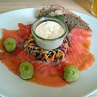 Smoked salmon - excellent!