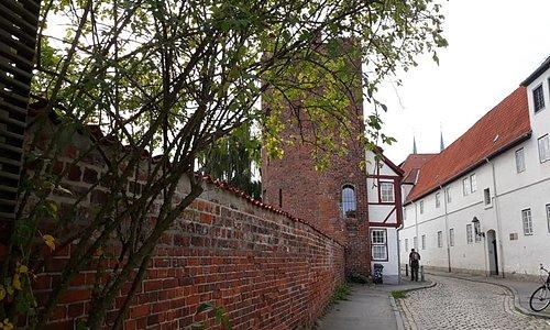 An der Mauer, Lübeck, Alemania.