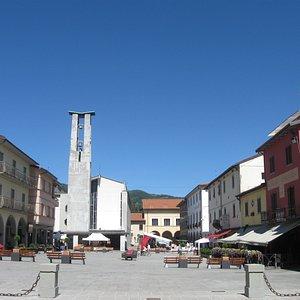 La piazza.
