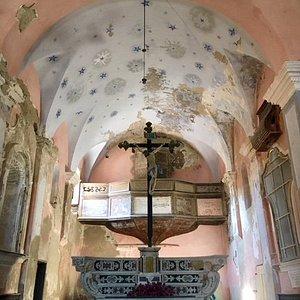 Capraia Isola, Chiesa di sant'Antonio: interno