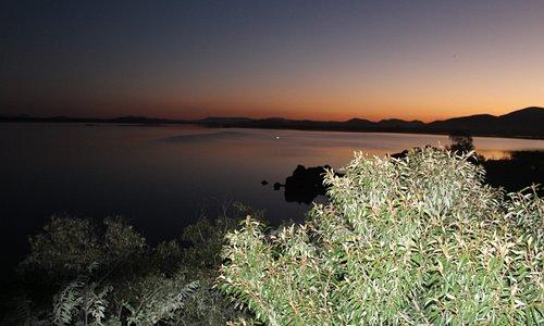 Gaborone Dam at sunset