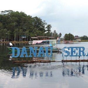 Danau Seran and the little island